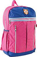 554054 Рюкзак підлітковий CA 095, рожевий, 28*45*11