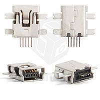 Коннектор зарядки для мобильных телефонов Motorola E2, E6, E8, L2, L6, L7, U6, V3, V3i, W5, 5 pin, mini-USB тип-B