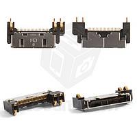 Коннектор зарядки для мобильных телефонов Pantech GF500, PG3600; Samsung E720, P730, S341i, S342i, X910, Z110, Z500, ZM60, ZV10, ZV30