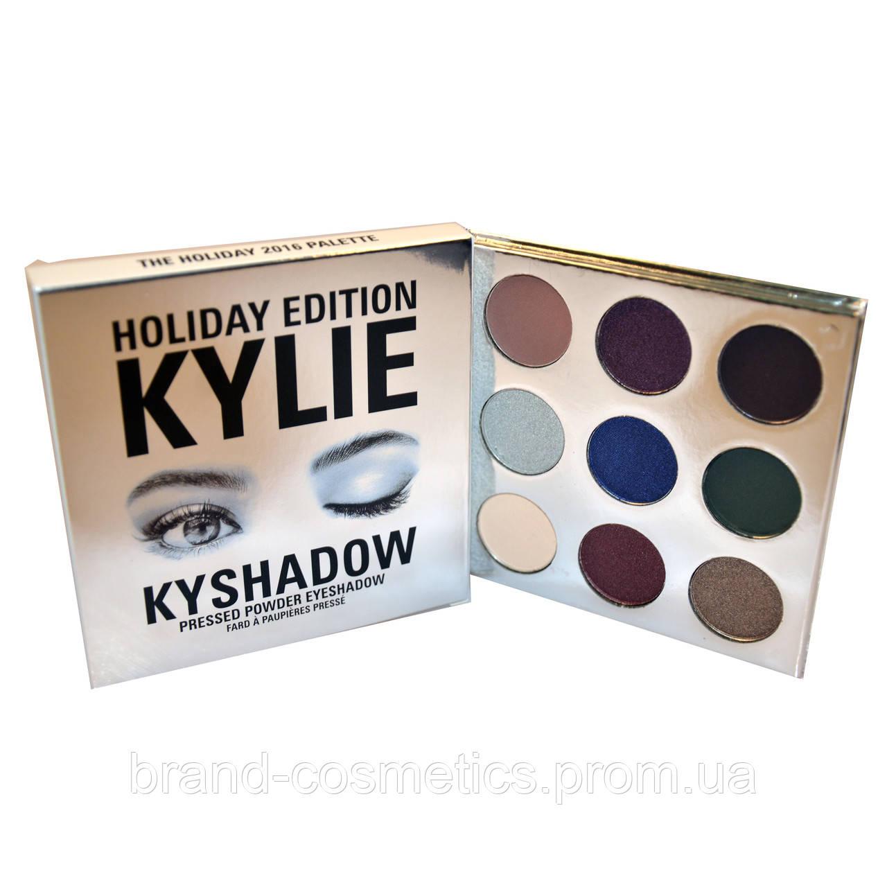 Тени для век Kylie The Holiday 2016 Palette