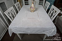 Скатерть льняная с вышивкой Арт. 04-19