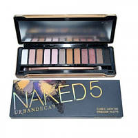 Тени Naked 5 Urban Decay Classic Earthtone Eyeshadow Palette