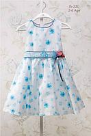 Платье на девочку в цветочек