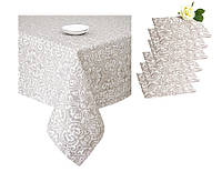 Набор подарочный скатерть и 6 салфеток ТМ Прованс Фреска