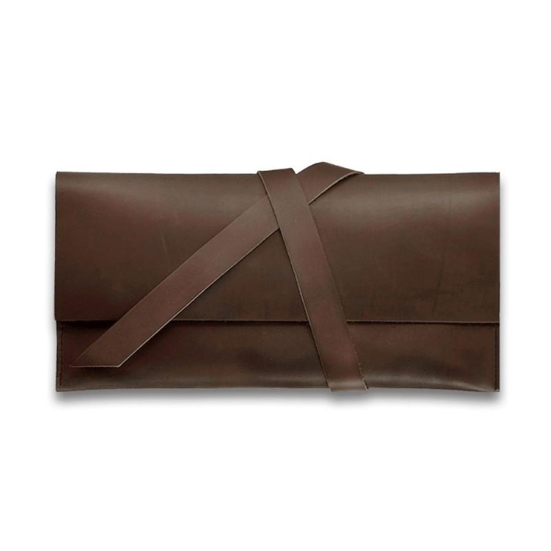 Тревел-кейс кожаный 1.0 коричневый
