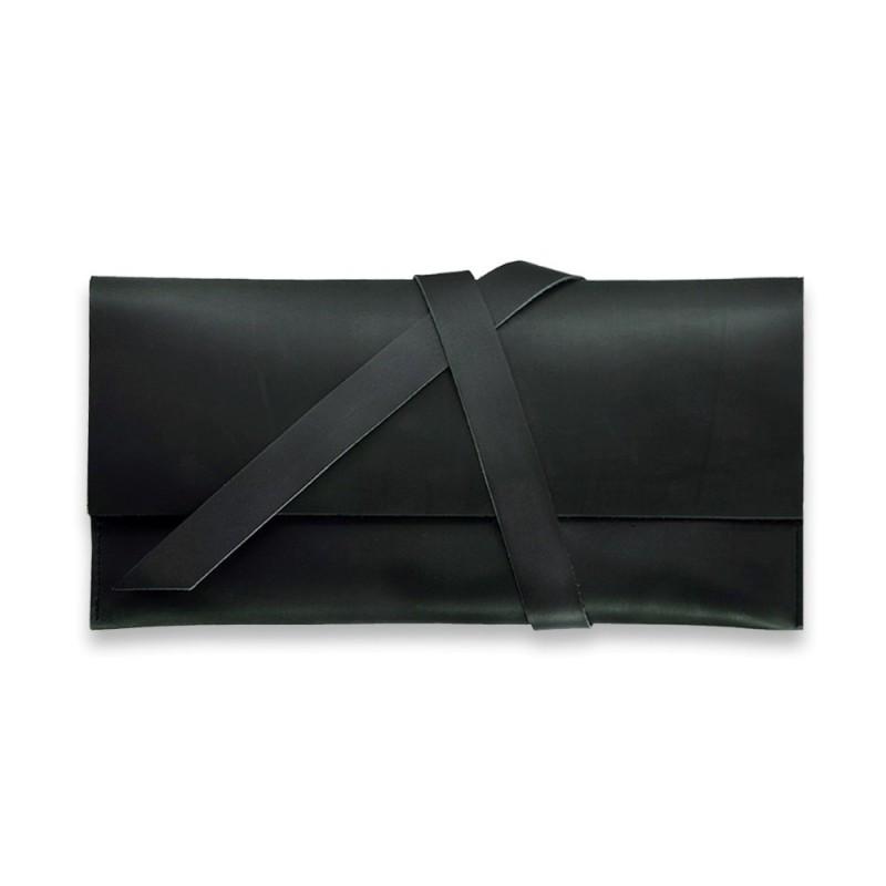 Тревел-кейс кожаный 1.0 черный