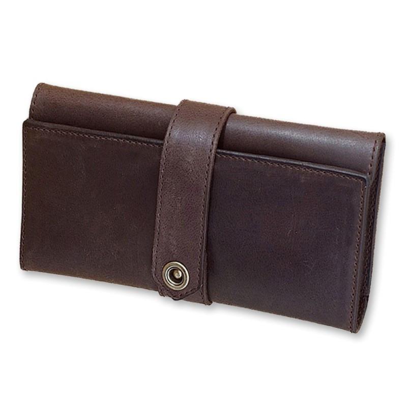 Мужское портмоне из кожи crazy 3.0