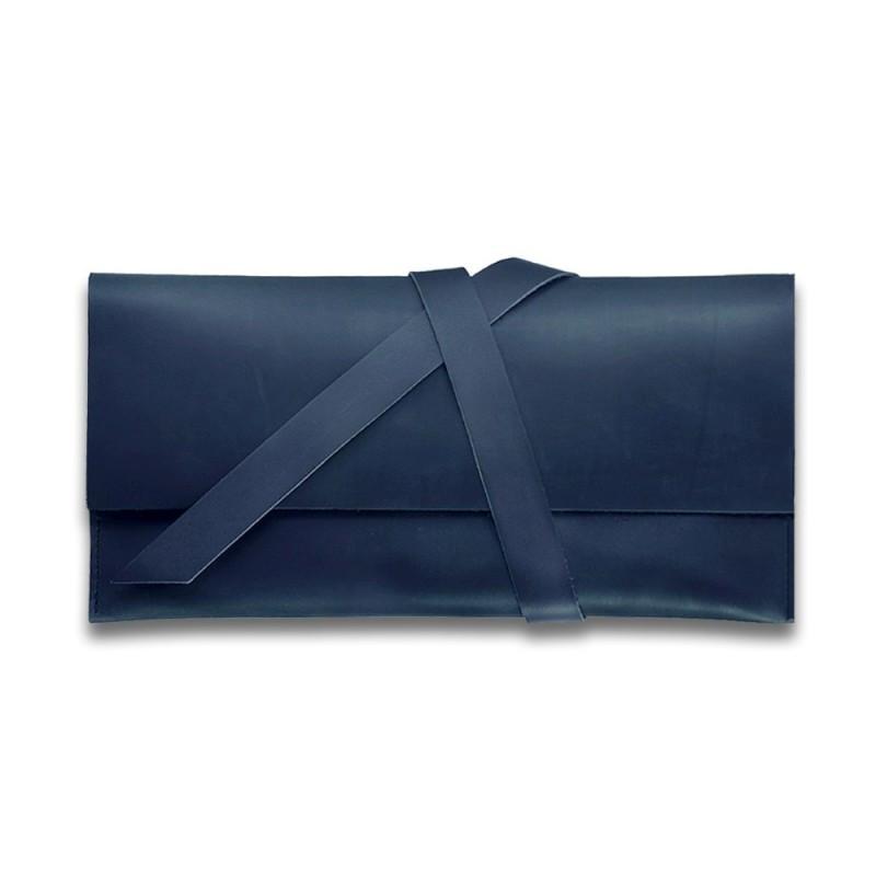 Тревел-кейс кожаный 1.0 синий