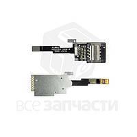 Коннектор SIM-карты для мобильных телефонов HTC P4550, TYTN II, со шлейфом