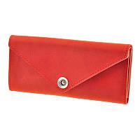 Женский кошелек из кожи 1.0 красный