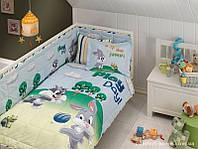 Набор в кроватку для младенцев Tac Disney - Looney Tunes Sylvester and Bugs Baby (5 предметов)
