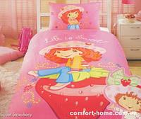 """Постельный комплект для подростков ТМ """"TAC Disney"""" Sweet Strawberry"""