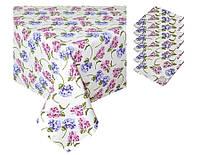 Набор подарочный скатерть и 6 салфеток Садовые цветы ТМ Прованс by Andre Tan