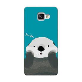 Силиконовый чехол для Samsung Galaxy A3 2016 A310 с рисунком smile панда