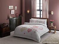 Постельное белье Tac ранфорс - Alice розовое V01 евро