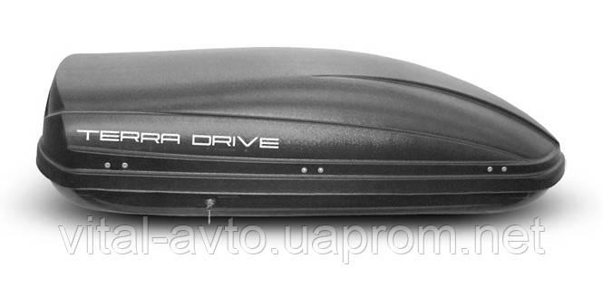 Аэробокс Terra Drive 440 л двусторонний черный