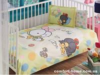 """Постельное белье в кроватку ТМ """"TAC"""" Disney Sizinkiler baby 100х150 см"""