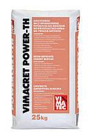 Армированный фиброй, полимерный тиксатропный ремонтный раствор высокой прочности VIMACRET POWER TH 25 кг