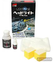 Очиститель для фар, поворотов, задних фар, прозрачных пластиковых частей автомобиля Soft 99 Light One