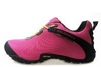 Женские демисезонные ботинки Merrell Continuum Goretex pink