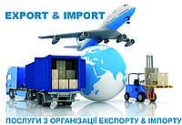 Услуги по организации импорта и экспорта
