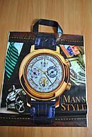 Пакет с петлевой ручкой Часы 38*43 см