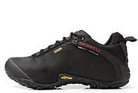 Женские демисезонные ботинки Merrell Continuum Goretex black