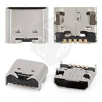 Коннектор зарядки для мобильных телефонов LG P895 Optimus Vu, T370, T375, 5 pin, micro-USB тип-B