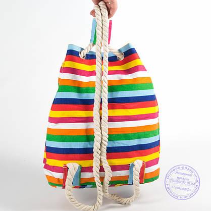 Еко рюкзак з малюнком різнобарвна з котами - 728, фото 3