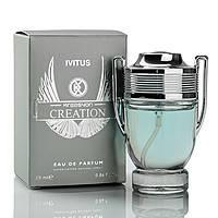 Мужской мини парфюм 25 мл Paco Rabanne Invictus Man (аналог брендовых духов Kreasyon Creation)