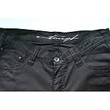 Штани з бавовни прямі чорні E-TOUGH ЛІТО, фото 4