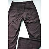 Штани з бавовни прямі чорні E-TOUGH ЛІТО, фото 6