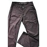 Штани з бавовни прямі чорні E-TOUGH ЛІТО, фото 5