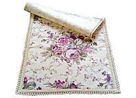 Дорожка в стиле Прованс Cotton Bucket Lilac