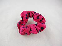 Резинка для волос крепдешиновая малая (50штук в упаковке)