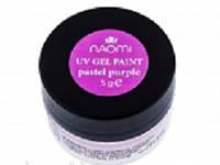 Гель-краска Naomi UV Gel Paint 5г Neon Pastel Purple