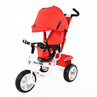 Детский трехколесный велосипед TILLY Trike (T-371 RED) с козырьком