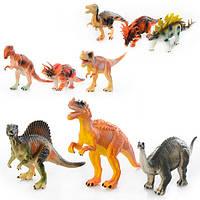 Динозаври P6 3 кольори, кул., 16,5-27-4,5 см.