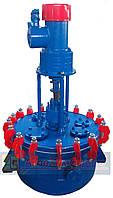 Эмалированный реактор химический  0,063м.куб.