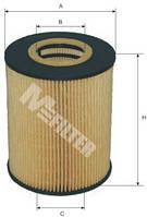 Фильтр масляный M-Filter TE612