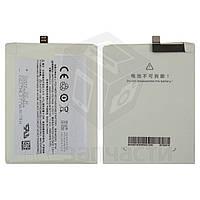 Аккумулятор BT40 для мобильного телефона Meizu MX4, Li-Polymer, 3,8 В, 3100 мАч