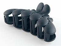 Заколка - краб для волос большой (12 штук в упаковке), фото 1