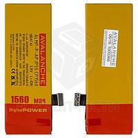 Аккумулятор Avalanche для мобильного телефона Apple iPhone 5S, (Li-ion 3.8В 1560 мАч), #ALMP-P-AP.iP5sCP1560