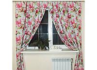 Комплект штор Прованс из водоотталкивающей ткани Bella Rose, арт. MG-140001