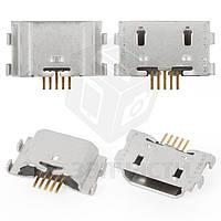 Коннектор зарядки для мобильного телефона Lenovo Z90-7 Vibe Shot, 5 pin, micro-USB тип-B