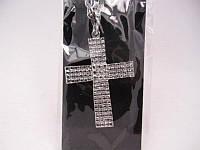 "Кулон больш.""крест""(6 модел.)(12шт.в уп.)"