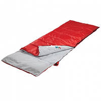Спальный мешок с подушкой CMG/B-1972, красный + коврик КЕМПИНГ XC
