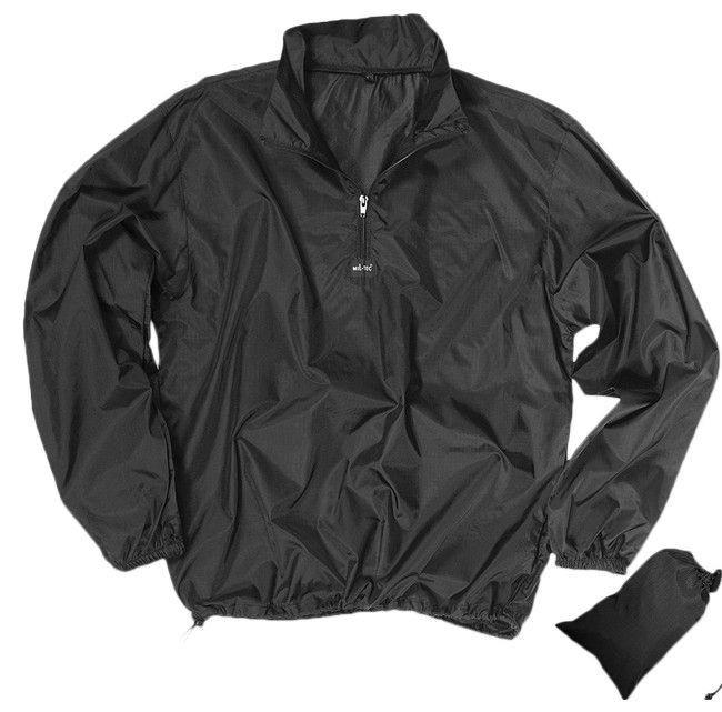 Куртка ветровка Rip Stop MilTec Black 10330002