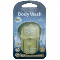 Мыло туристическое для тела SEA TO SUMMIT Pocket Body Wash Soap Eur, зеленый чай