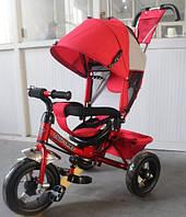 Трехколесный велосипед TILLY Trike (T-364 КРАСНЫЙ) с родительской ручкой